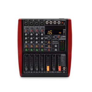 Guangzhou Tiwa 4 Channel Mini DJ Mixer Audio