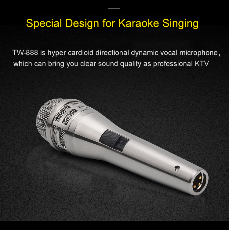Tiwa Dynamic Microphone with wire