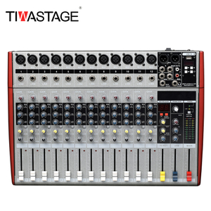 Tiwastage 12 channel mixing console dj mixer MS-12
