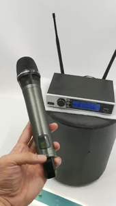 2019 Single Channel UHF True Diversity Wireless Microphone for Handheld Microphone