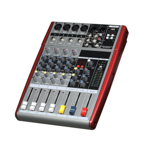 Tiwa 4 channel mixing console Record 48V Phantom Power