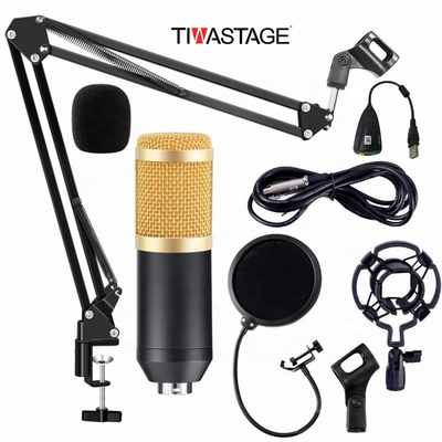 Bm800 Full Set Condenser Microphone studio kit